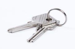 изолированные ключи 2 Стоковая Фотография RF