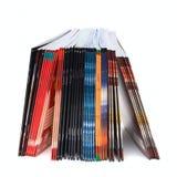 изолированные книги обучают белое сочинительство стоковые фотографии rf