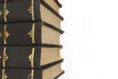 изолированные книги Стоковое фото RF