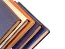 изолированные книги Стоковая Фотография RF