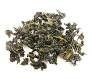 Изолированные листья чая черного чая свободные высушенные, Стоковое Фото