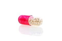 изолированные медицинские pillls белые Стоковое Фото