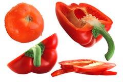 изолированные овощи Стоковая Фотография RF