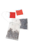 изолированные пакетики чая белые Стоковые Изображения RF