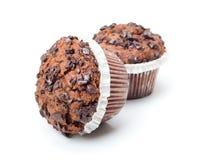изолированные пирожня шоколада Стоковое Изображение