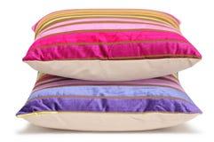 изолированные подушки Стоковые Изображения