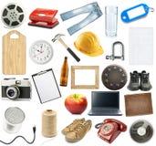 Изолированные предметы Стоковое Изображение RF