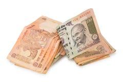 изолированные рупии Стоковое Изображение