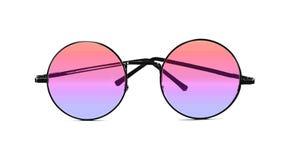 изолированные солнечные очки белые стоковые изображения rf