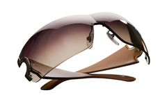 изолированные солнечные очки белые Стоковые Фотографии RF