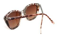 изолированные солнечные очки Стоковое фото RF