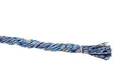 изолированные старые проводы телефона Стоковые Изображения RF