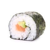 изолированные суши maki стоковое изображение