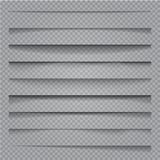 Изолированные тени вектора иллюстрация штока