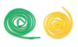 изолированные шнурки 2 Стоковое Фото