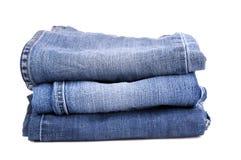 Изолированные джинсыы Стоковая Фотография