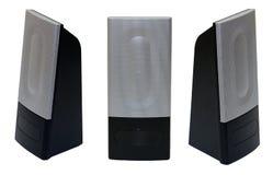 изолированные дикторы ПК Стоковое Изображение RF