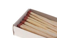 изолированные matchboxes Стоковые Изображения RF