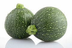 изолированные zucchinis Стоковые Фото