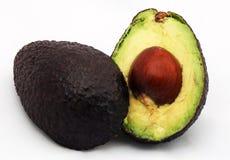изолированный авокадо Стоковое фото RF