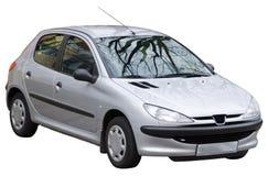изолированный автомобиль Стоковые Изображения