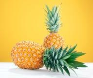 Изолированный ананас 2 Стоковые Изображения RF