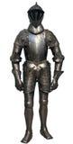 Изолированный античный рыцарь Стоковая Фотография