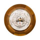 изолированный барометр Стоковое фото RF