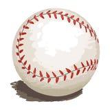 изолированный бейсбол Стоковое Изображение