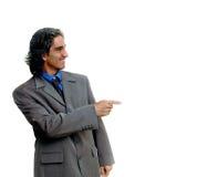 изолированный бизнесмен 2 Стоковые Изображения RF