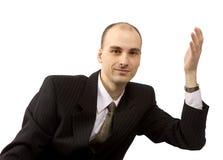 изолированный бизнесмен Стоковые Фото