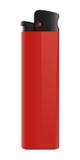 изолированный более светлый красный цвет Стоковое фото RF
