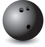 изолированный боулинг шарика иллюстрация штока