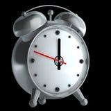 изолированный будильник Стоковое Изображение RF