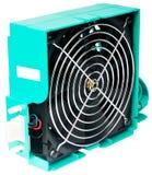 изолированный вентилятором сервер s стоковое фото rf