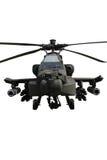 изолированный вертолет апаша Стоковое Изображение RF