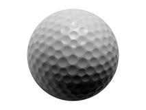 изолированный гольф шарика Стоковые Фото