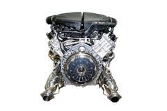 изолированный двигатель автомобиля Стоковое Фото