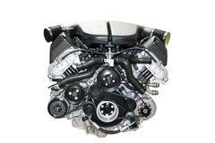 изолированный двигатель автомобиля Стоковые Фото