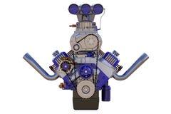 Изолированный двигатель горячей штанги 3d представляют Стоковое Изображение RF