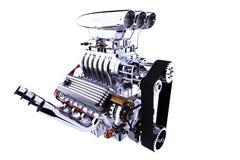 Изолированный двигатель горячей штанги 3d представляют Стоковое Фото