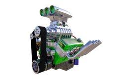Изолированный двигатель горячей штанги 3d представляют Стоковое фото RF