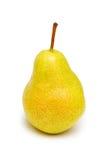 изолированный желтый цвет груши Стоковые Фото