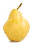 изолированный желтый цвет груши Стоковое Фото
