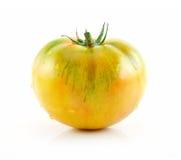 изолированный желтый цвет зрелого томата белый Стоковая Фотография RF