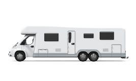 Изолированный жилой фургон Стоковые Изображения