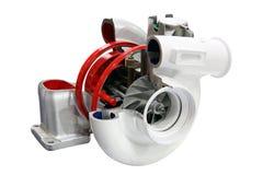 Изолированный заряжатель turbo автомобиля Стоковые Фотографии RF