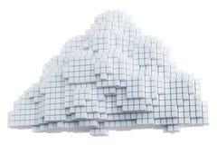 изолированный интернет облака Стоковые Фотографии RF