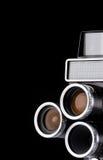 изолированный камерой сбор винограда кино Стоковая Фотография RF