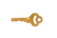 изолированный ключ Стоковое Изображение